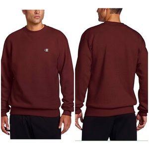 Champion Pullover Eco Fleece Maroon Sweatshirt